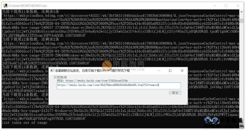 百度文库原格式下载工具 v0.95