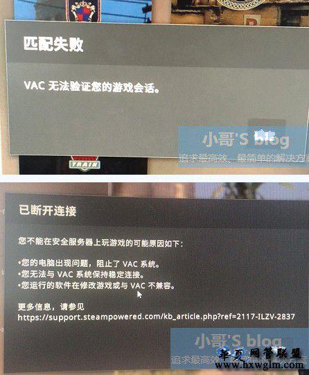 屏蔽VAC组件批处理,CSGO VAC无法验证您的游戏会话