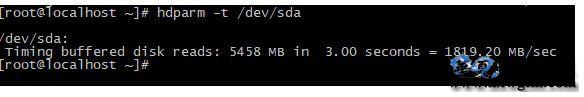 测试linux Centos硬盘读写速度