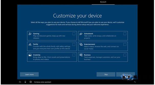 微软发布下载Win10最新版ISO镜像20231:首次开机加入一键设置