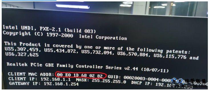 技嘉主板无盘启动DHCP的时候 网卡MAC地址变成00-00-00-00-00-00的奇葩问题