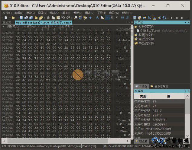 010Editor v11.0.1 汉化破解版
