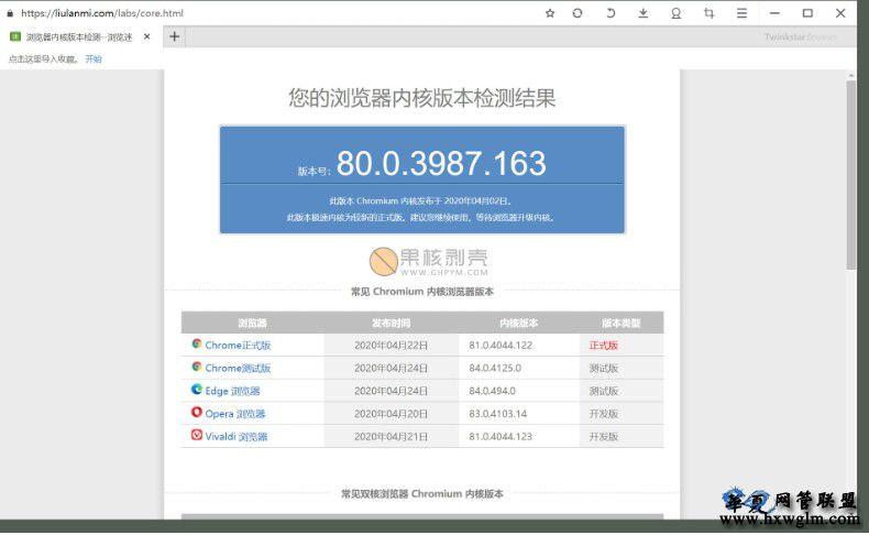 twinkstar(星愿浏览器)v7.9.1000.2106 便携版