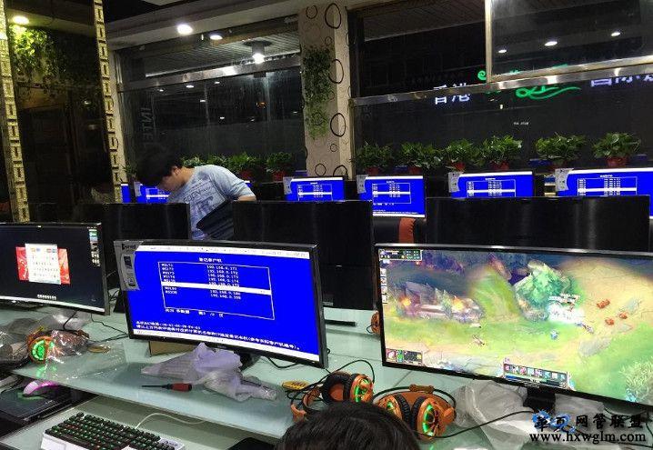 敢吃螃蟹才能获得行业第一,新上一批34寸曲面显示器,已安装完毕。