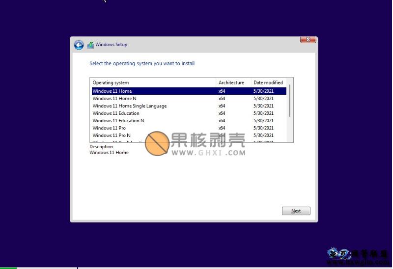 Windows11 v22000.71 预览版 原版打包镜像